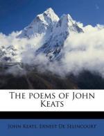 John Keats Letter to Fanny Brawne by