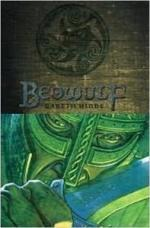 Beowulf as a Cartoon Character by Gareth Hinds