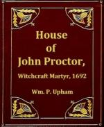 A Character Analysis of John Proctor by