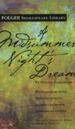 The Nature of Love in `a Midsummer Night's Dream'. by William Shakespeare