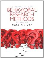 Research Methods by