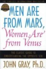 An Opinion on Men Are from Mars, Women Are from Venus by