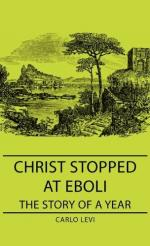 Pathos in Christ Stopped at Eboli by Carlo Levi