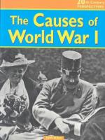 The Role of the Alliance System in Causing the First World War by