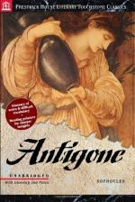 Antigone and Creon by Sophocles