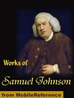 "Samuel Johnson's ""Preface to Shakespeare"" by"