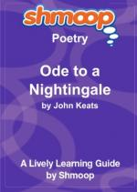 """Ode to a Nightingale"" by John Keats by"