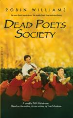 "Mr. Keating in ""Dead Poets Society"" by N.H. Kleinbaum"
