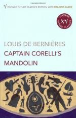 Love in Captain Corelli's Mandolin by Louis de Bernières