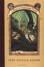 A Series of Unfortunate Events: The Reptile Room by Lemony Snicket
