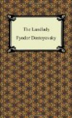"""the Landlady"" by"