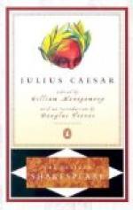 Brutus Vs. Cassius by William Shakespeare