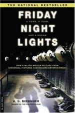 Friday Night Lights, a Comparison of the Film and Novel by