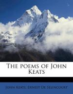 Keats and the Imagination by