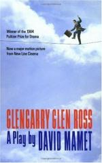 Review of the Play Glengarry Glen Ross by David Mamet