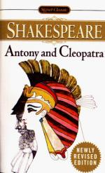 Impression of Antony in Act 1 of Antony and Cleopatra by William Shakespeare