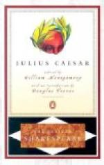 Julius Caesar Acts 1-3 by William Shakespeare