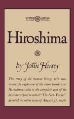 Miss Toshiko Sasaki Throughout John Hersey's Hiroshima by John Hersey