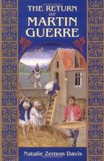 Feudal Patriarchal Systems in The Return of Martin Guerre by Natalie Zemon Davis