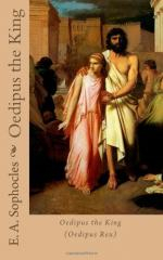 """We Admire Oedipus Because of His Virtues, but More So His Flaws."" Do You Agree? by Sophocles"