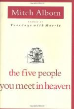 The Five People You Meet in Heaven by Mitch Albom by Mitch Albom