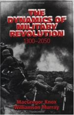 Is the Notion of an Early Modern Military Revolution Tenable? by