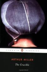 "Changing Moral Levels in ""The Crucible"" by Arthur Miller"