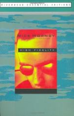 High Fidelity by Nick Hornby by Nick Hornby