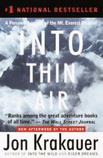Motives: the Climb Vs Into Thin Air by Jon Krakauer