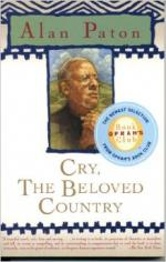 Fear in Cry, Beloved Country by Alan Paton