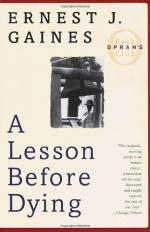 How Does A Lesson Before Dying Show That the Cycle of Human Despair Can Be Halted? by Ernest Gaines