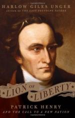 Patrick Henry: An Important Patriot's Persuasive Words by