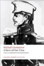 The Role of Female Characters in Lermontov's Hero of Our Time by