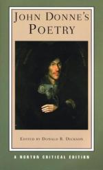 """Division of the Body and Soul in John Donne's """"The Funeral"""" and """"Sonnet 3"""" by"""
