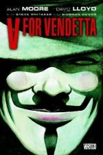 "Image Portrayed in ""V for Vendetta"" Poster by Alan Moore"