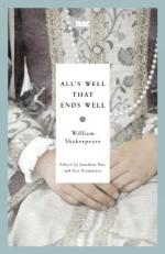 """All's Well That Ends Well"" by William Shakespeare"