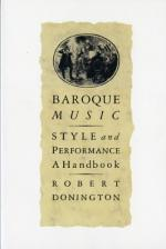 Baroque Versus Classical by