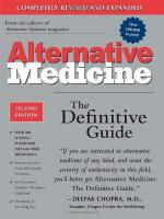 Alternative Medicine by