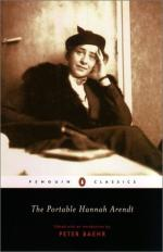 Arendt, Hannah (1906-1975) by