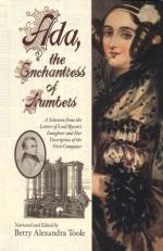 (Augusta) Ada Byron, Countess of Lovelace by