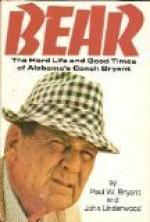 "Bryant, Paul ""Bear"" (1913-1983) by"