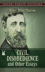 """Civil Disobedience"" (Resistance to Civil Government) by Henry David Thoreau"