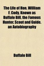 "Cody, William ""Buffalo Bill"" by"