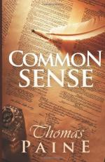 Common Sense - Thomas Paine - 1776 by Thomas Paine
