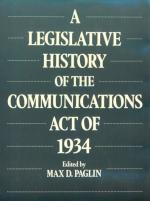 Communications Act of 1934 by