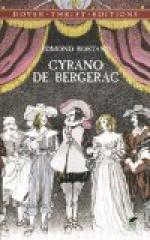 Cyrano De Bergerac, Savinien De (1619-1655) by Edmond Rostand