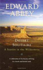 Desert Solitaire: A Season in the Wilderness by Edward Abbey