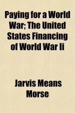 Financing, World War II by