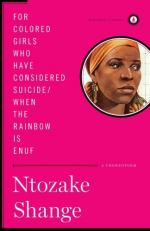 for colored girls who have considered suicide / when the rainbow is enuf by Ntozake Shange