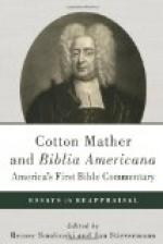 From the Wonders of the Invisible World (1693) by Cotton Mather by